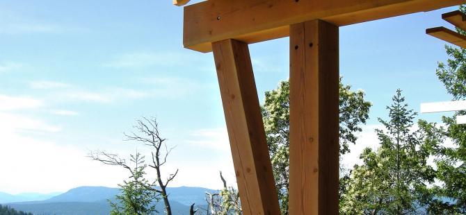 detail, Ward Gulf Island House - Alan James Architect
