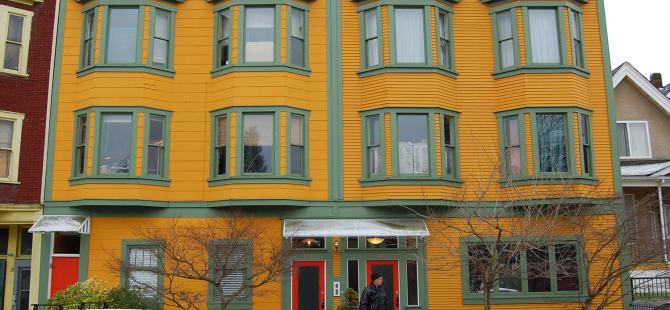 exterior, Sakura Apartments - Alan James Architect