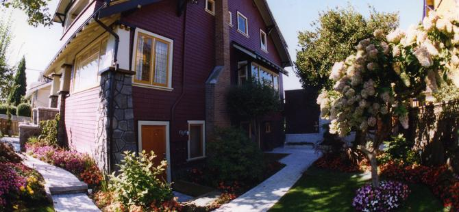 exterior, Erickson House - Alan James Architect